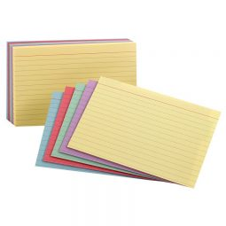 """Index Cards 4"""" x 6"""" Ruled"""