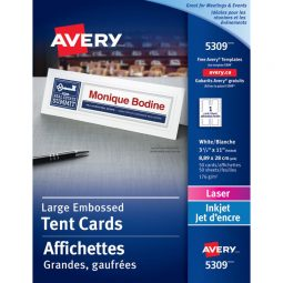 Avery Tent Cards 3-1/2' X 11'