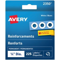 Avery® White Reinforcement Labels