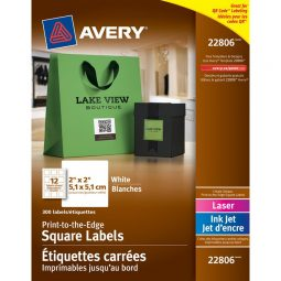 Avery® Print-to-the-Edge Square Labels