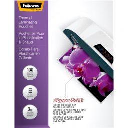 Fellowes® SuperQuick™ Laminating Pouches