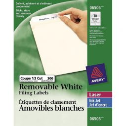 Avery® Removable Filing Labels