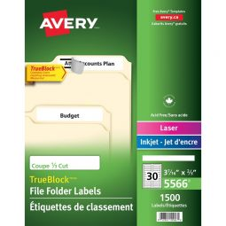 Avery® Trueblock Labels