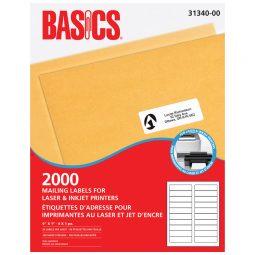 Basics® Mailing Labels