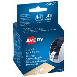"Avery Label Printer Labels 3-1/2"" X 1-1/8"""