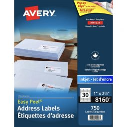 Avery® Easy Peel Mailing Labels