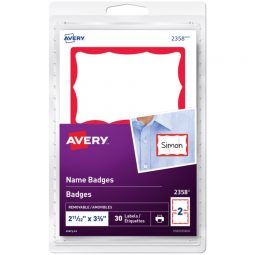 Avery® Name Badge Labels