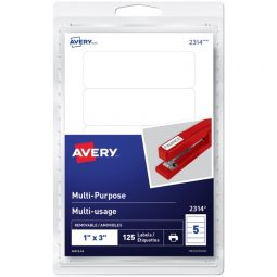 Avery® Multi-Purpose Removable Labels