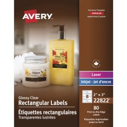 Avery® Print-to-the-Edge Rectangular Labels