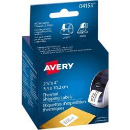 "Avery Label Printer Labels 4"" X 2-1/8"""