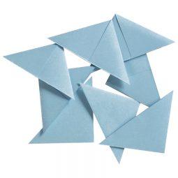 Blueline Document Corners Blue