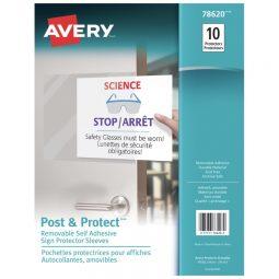 Avery Removable Self-Adhesive Display Protectors