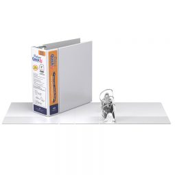 Quickfit Customizable D Ring Binder 4' White