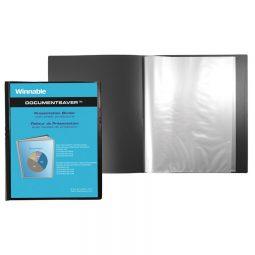 "Winnable Presentation Book 20-Pocket 8-1/2"" X 11"""