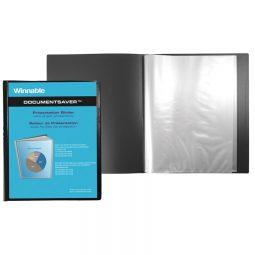 "Winnable Presentation Book 40-Pocket 8-1/2"" X 11"""