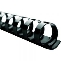 """Binding Combs 19 Rings 5/8"""" Black"""