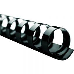 """Binding Combs 19 Rings 1"""" Black"""