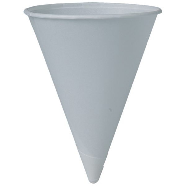 Cone Water Cups 4 Oz