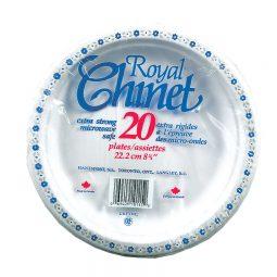 """Royal Chinet– Disposable Plates 8-3/4"""""""