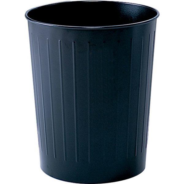 Safco Round Metal Wastebasket