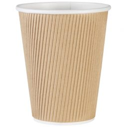 Genuine Joe Ripple Cups 12 Oz