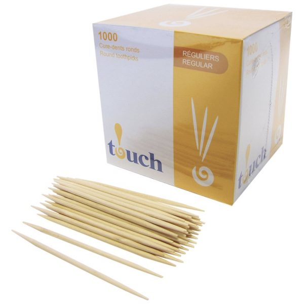 Touch Tooth Picks Round