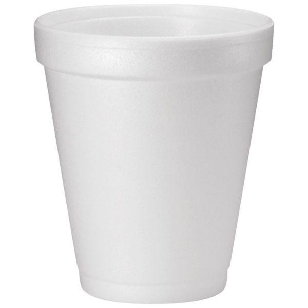 8oz Foam Cup White