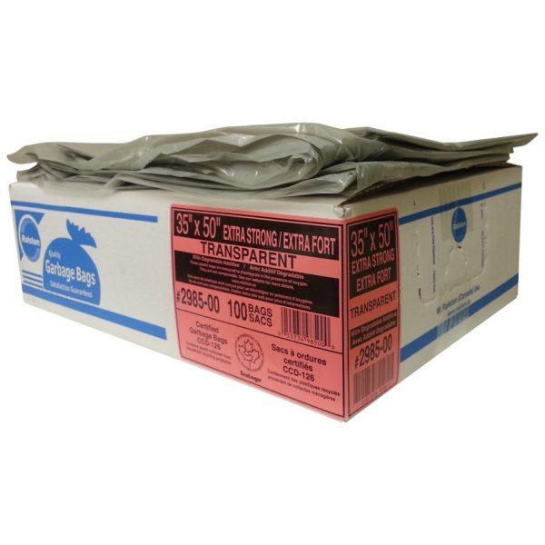 Industrial Clear Garbage Bag