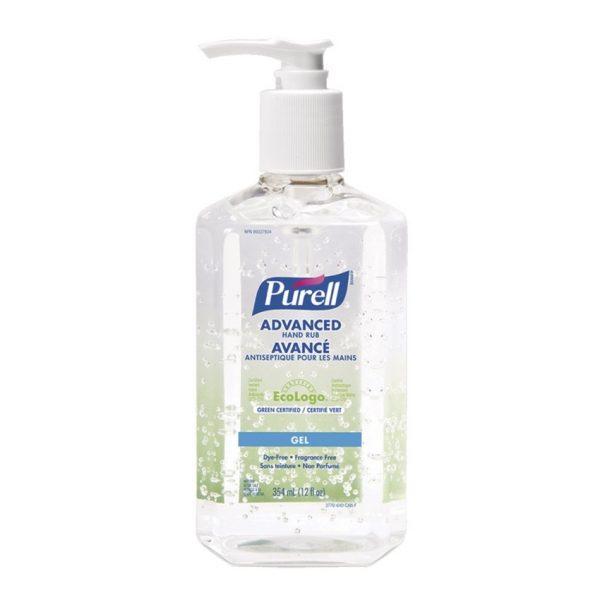 Purell 70 Gel Hand Sanitizer Pump 354 ML