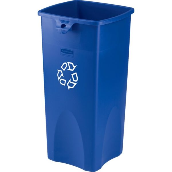 Rubbermaid® BRUTE® Square Recycling Container
