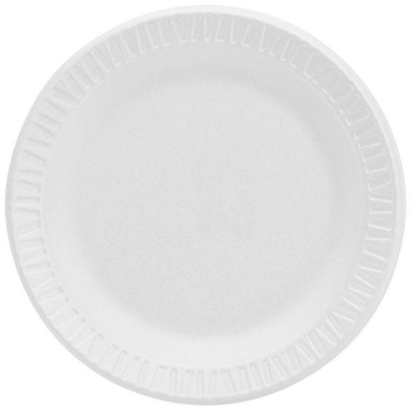 6'' Foam Plate 125/package