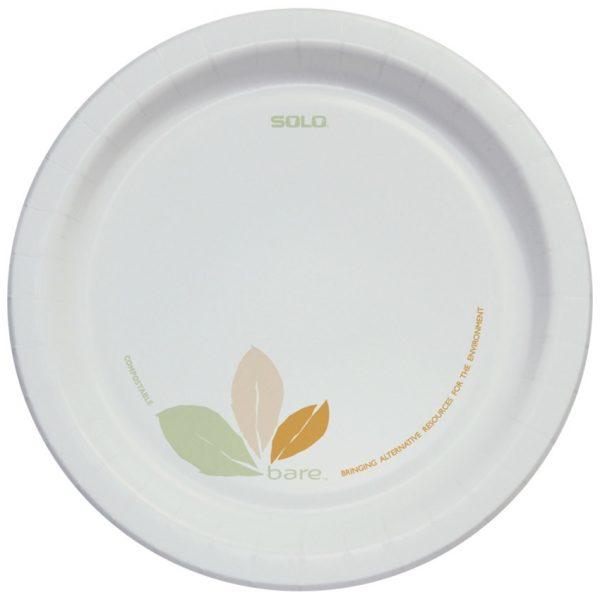 Solo Bare Eco-Forward Clay-Coated Plates