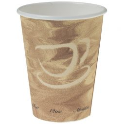 Mistique coffee cup 12oz 50/package