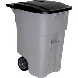 Rubbermaid® BRUTE® Rollout Waste Container with Lid