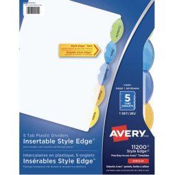 Avery Style Edge Index 5 Tabs