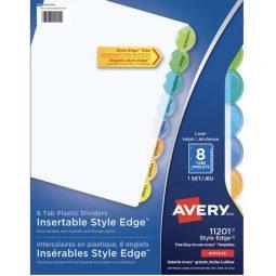 Avery Style Edge Index 8 Tabs