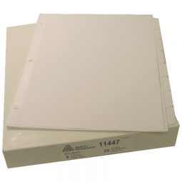 Avery Index Maker Index 8 Tabs White