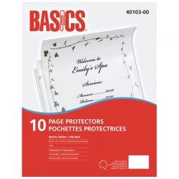 Basics Sheet Protector 3 Mil Matte