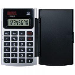 Basics 8-Digit Hard Case Pocket Calculator