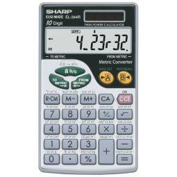 Sharp® EL344RB Metric Conversion Calculator