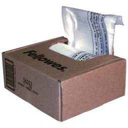 "Fellowes Powershred Shredder Bags 44"" X 21"" X 48"""