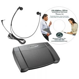 Greenside Ultra Professional Transcription Kit