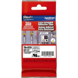Brother® P-Touch TZe Strong Adhesive Label Tape
