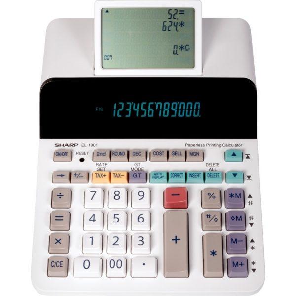 SharpEL-DP9001 Paperless Printing Calculator