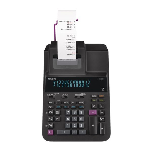 Casio® DR-120R Printing Calculator
