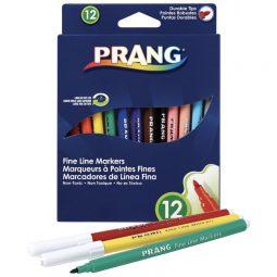 Prang Washable Fine Line Markers