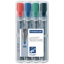 Staedtler Lumocolor Bullet Tip Flipchart Markers
