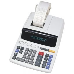 Sharp EL2607RIII 12 Digits Desktop Printing Calculator