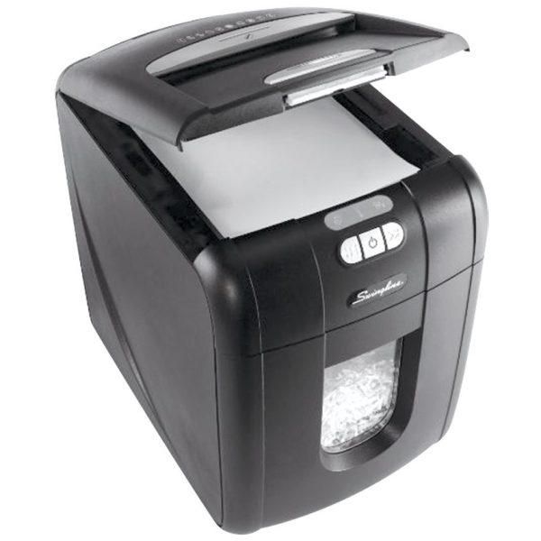 GBC® Stack-and-Shred™ 130X Cross Cut Executive Shredder