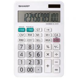 Sharp EL334WB Desktop Calculator